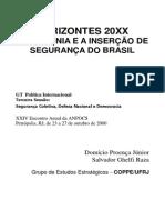 Horizontes 20XX A AMAZÔNIA E A INSERÇÃO DE SEGURANÇA DO BRASIL