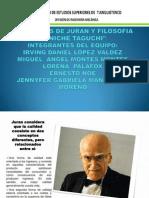 FILOSOFIAS DE JURAN Y FILOSOFIA GENICHE TAGUCHI.pptx