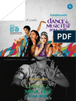 Kalabharathi Fest Brochure