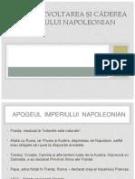 Dezvoltarea și căderea    imperiului napoleonian