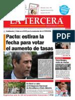 DIARIO LA TERCERA 28-10-2014