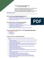 NCCMH Current Awareness Bulletin (CAB) Vol 7 Iss 4 (Oct-Nov 2009)