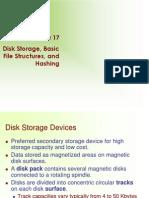Elmasri 6e Ch17 Week2 HW DiskStorage