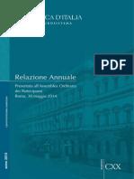Relazione Annuale. Banca d'Italia