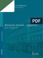 Appendice alla Relazione Annuale
