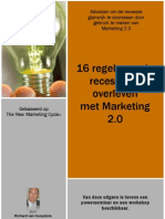 16 Regels Om de Recessie Te Overleven Met Marketing 2.0
