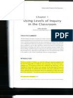 Week #2 Anchor Chapter - Using Levels of Inquiry in the Classroom (1)