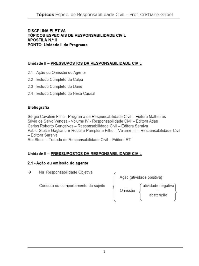 PABLO RESPONSABILIDADE BAIXAR CIVIL STOLZE