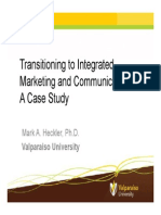 Moving Toward an Integrated Marketing Communications Model_Heckler Powerpoint