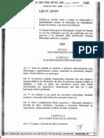 LEI nº 257/97 - Arborização e Ajardinamento Urbano de Mandaguari