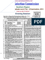 Ssc Tier1eveningpaper26 2014