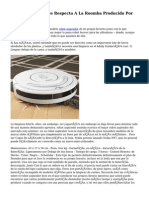 Aprender En Lo Que Respecta A La Roomba Producido Por IRobot