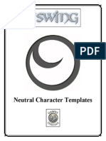 The Swing Neutral Character Templates