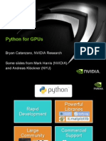 2013_07_22-Python-CUDA