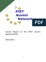EAN Annual Report 2012-2013