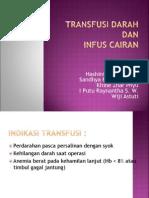 Transfusi Darah dan Infus Cairan