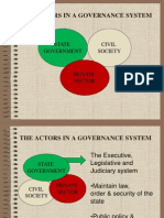 CD 141 Actors in Governance and Understanding OD 2013
