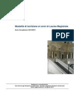 Guida Ammissione Lauree Magistrali 2014 01