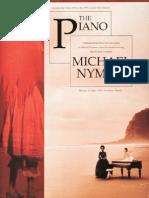 (Piano Songbook) Michael Nyman - The Piano - Partitura Completa