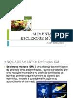 Alimentação e Esclerose Múltipla