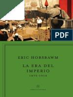 Hobsbawm - La Era Del Imperio Primer Capítulo