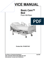 Hill-Rom Basic Care Bed - Service Manual