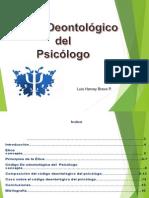 Codigo Deontologico Del Psicologo