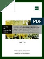 2014-2015 Guía de Estudio Prácticas Profesionales I