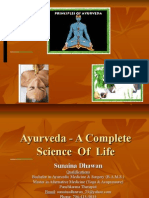 Ayurveda - A Complete Science of Life