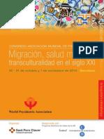 Migración-Congreso Barcelona 2010