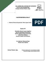 Historia Clinica de HTDA
