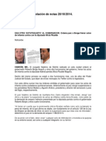 Relación de Notas 28-10-2014