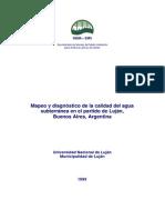 Mapeo y diagnóstico de la calidad del agua subterránea en el partido de Luján, Buenos Aires, Argentina