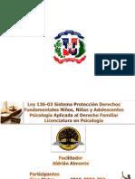 Resumen Ley 136-03 Código Protección al Menor