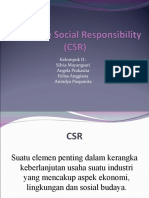 Contoh Corporate Social Responsibility