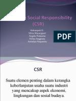 Contoh Corporate Social Responsibility