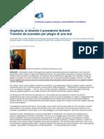 Presidente Ungheria Schmitt Si Dimette Per Aver Copiato Tesi Repubblica 2 Aprile 2012