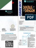 Nintendo Gameboy Double Dragon