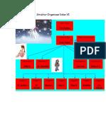 Struktur Organisasi Kelas VI