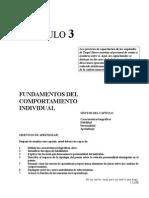 Co Cap3 - Fundamentos Del Comportamiento Individual