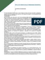 MUNICIPALIDAD DISTRITAL DE CHINCHA BAJA ORDENANZA MUNICIPAL Nº 003.docx