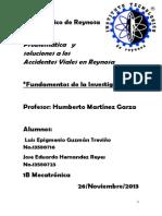 Solución a La Problemática de Los Accidentes Viales en Reynosa