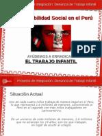 Dame La Mano - Plataforma de Denuncia de Trabajo Infantil en Peru