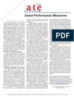 Evidence Based Performance Measure