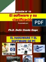 SESION N° 10 - EL SOFTWARE Y SU CLASIFICACION