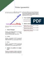 Vértice (geometría)