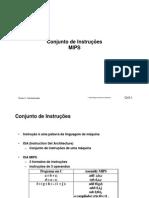 Instruções Processador MIPS Assembly