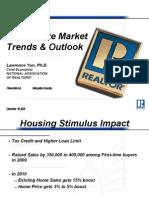 Real Estate Market 1209 NAR