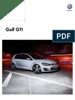 Ficha Tecnica Golf Gti My2015