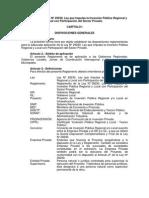 Reglamento Obras Por Impuesto  Ley Nº 29230